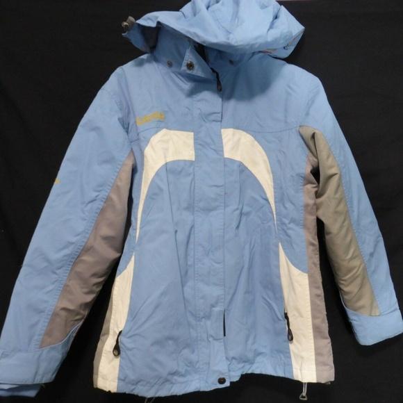 Columbia Titanium 3-in-1 jacket with hoodie, med